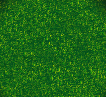 Green lawn background vector material
