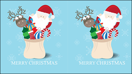 Link toCartoon christmas spree vector material