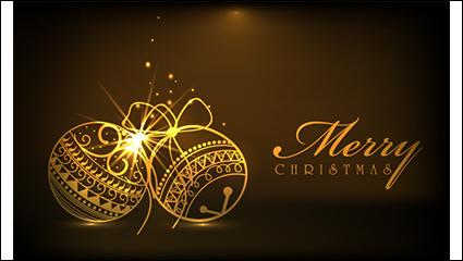 Link toGolden christmas light effect lob vector material