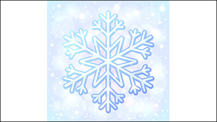 Link toSnow and ice blue background vector material