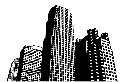 City high-rise building material vector – Over millions vectors