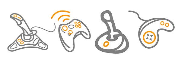 Vector game handle material Download Free Vector,PSD,FLASH,JPG ...