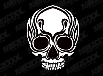 Keyword: vector material, vector skull, totem, tattoo