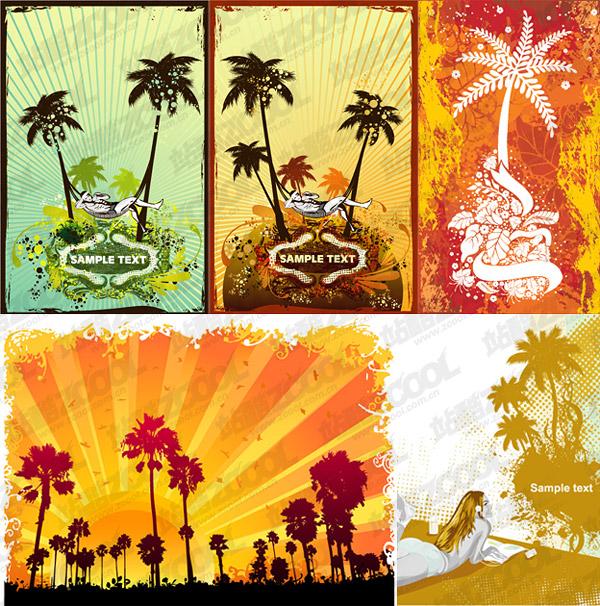 Coconut trees theme vector illustrations material over millions com share coconut trees theme vector illustrations material you can download now toneelgroepblik Image collections