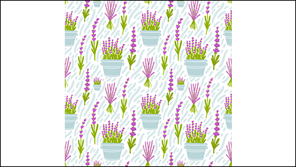 Lavender Purple seamless background vector material