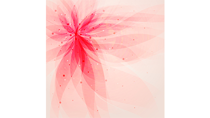 Dream abstract flower background vector map