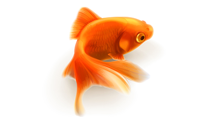 Link toGoldfish vector material realistic design