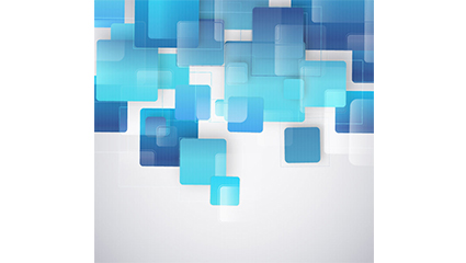Link toFashion blue square background vector