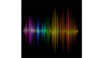Link toAudio background color vector material