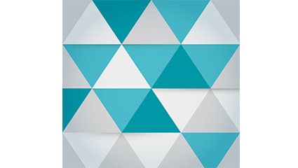 Background vector diagram of fashion triangle mosaic