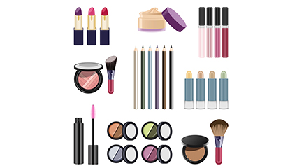 Link to9 cosmetic design vector material