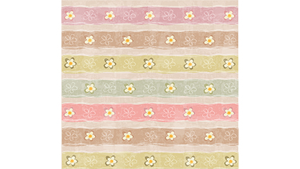 Do the old striped flowers seamless background vector