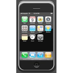Iphone Transparent Gif Apple iPhone phone ico...