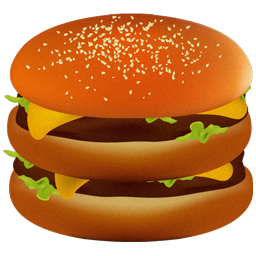 americanstyle fast food beverage computer icon
