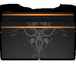 fashion china wind series  puter folder icon png