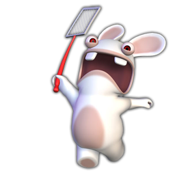 3D Rayman Raving Rabbids icon png Download Free Vector,PSD ...