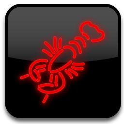 Neon Lights Cartoon Style Icon Transparent Png Download