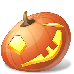 Vista Style Halloween Pumpkin Face Computer Icon Png