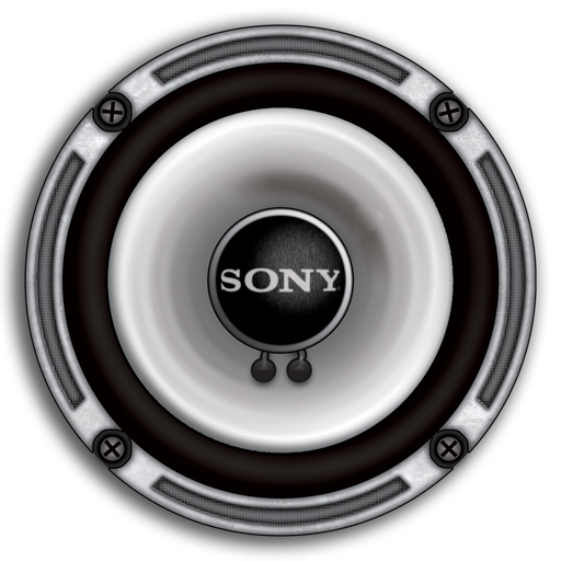 sony stereo speaker icon png download free vectorpsd