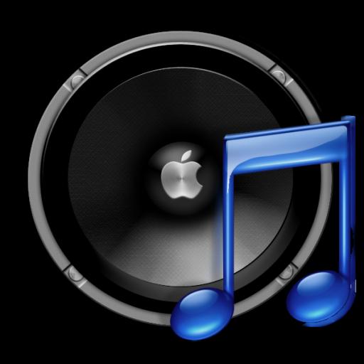 Apple speaker icon png...