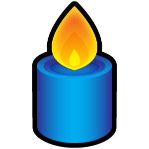 Candles Topic Icon Png Over Millions Vectors Stock