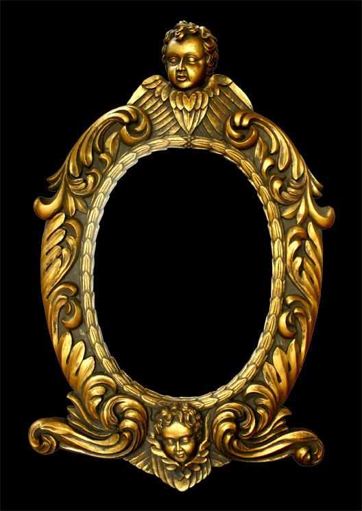 Painted Mirror Frame Art