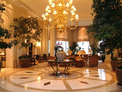 Gorgeous hotel lobby picture material-1 – Over millions