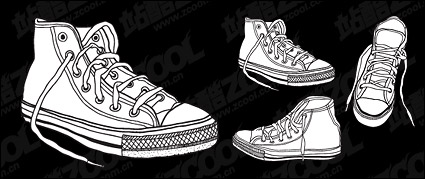 Link toVector shoes material
