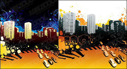 Link toThe trend of urban vector illustration material