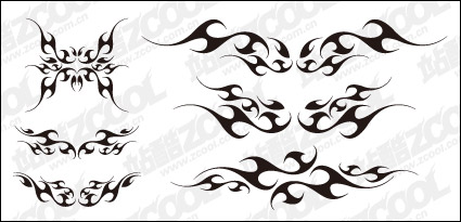 Link toShape of the wings totem vector material