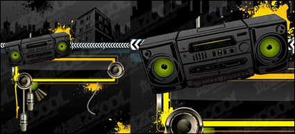 Link toRadio city music theme vector material