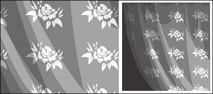 Link toPattern of white gauze material