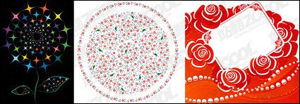 Link toDelicate flower pattern vector