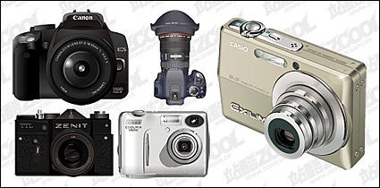 Link toDigital cameras vector material