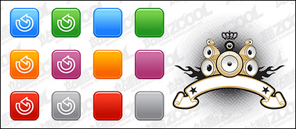 Link toButton and the horn material element vector