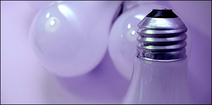 Incandescent bulbs picture material