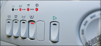 Washing machine button picture material