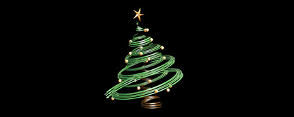 3D Christmas tree material
