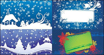 Link toChristmas vector background material