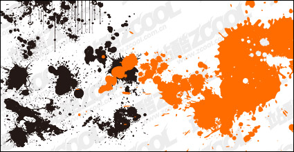 Link toPractical ink blot vector material
