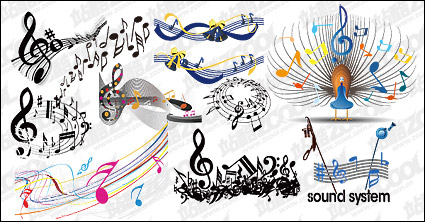 Link toPractical elements of music vector material