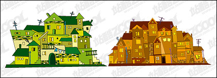 Link toVector illustration house material -2