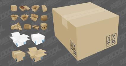Link toVector cardboard carton material