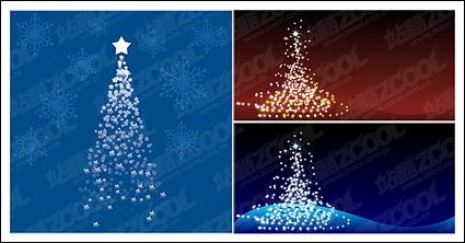 Link toFlash vector christmas tree material