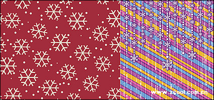 Link toThe background snowflake 2 vector material