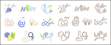 Link toCute icon series vector material-5