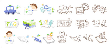 Link toCute icon series vector material-3
