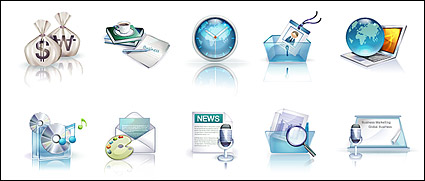 Link toBeautiful vista style icons vector material-1