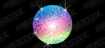 Link toLights disco ball vector material