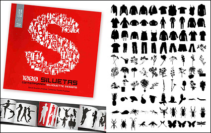 Link to1000 album various silhouette vector material-9